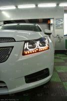 "Передние фары для Chevrolet Cruze  ""VW Style "" Вариант 10."